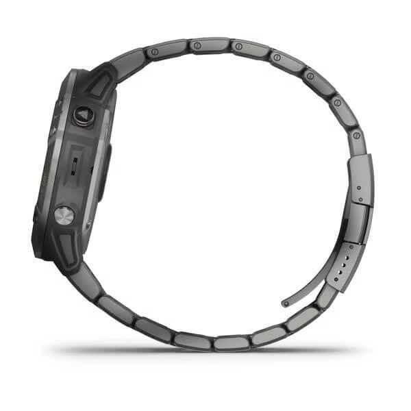 fēnix 6X PRO Solar - Titanium with Vented Titanium Bracelet