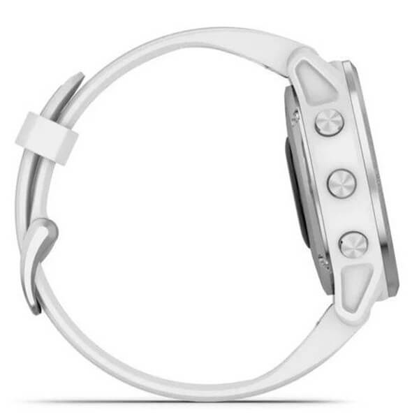 fēnix 6S - Silver with White Band