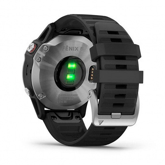 fēnix 6 - Silver with Black Band