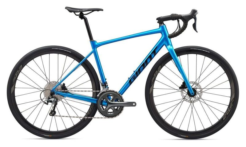 Велосипед Giant Contend AR 2 метал син. M/L