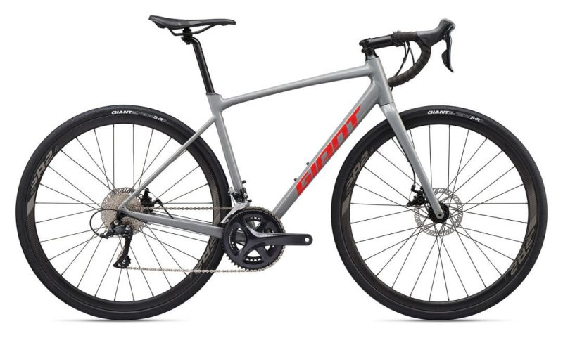 Велосипед Giant Contend AR 3 Gray/Pure Red