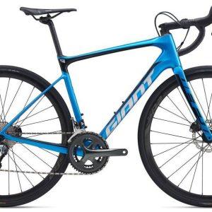 Велосипед Giant Defy Advanced 3-HRD метал син. M/L