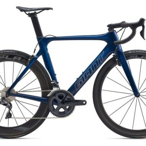Велосипед Giant Propel Advanced 0 метал син. M