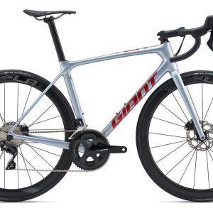 Велосипед Giant TCR Advanced Pro 3 Disc Silver Glacier М