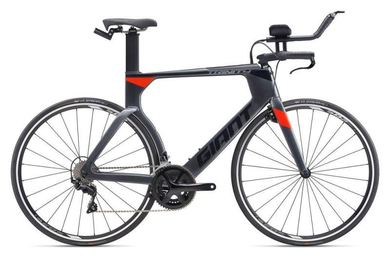 Велосипед Giant Trinity Advanced Pro Charcoal/Neon Red
