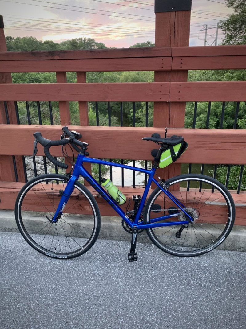Велосипед Giant Contend 3 Electric Blue/Black
