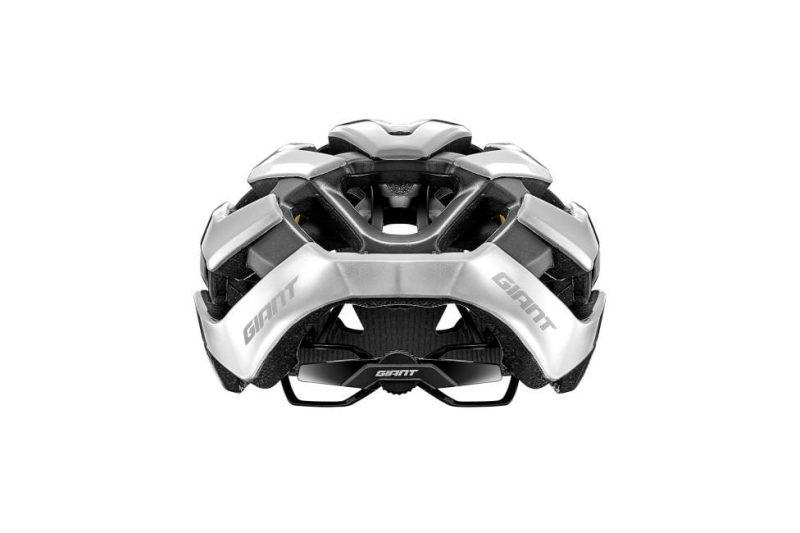 Шлем вел. Giant Rev Pro глянц./метал.белый