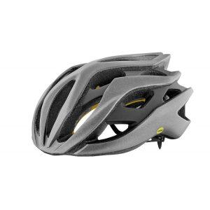 Шлем Giant Rev MIPS матовый серебристый /матовый чорный