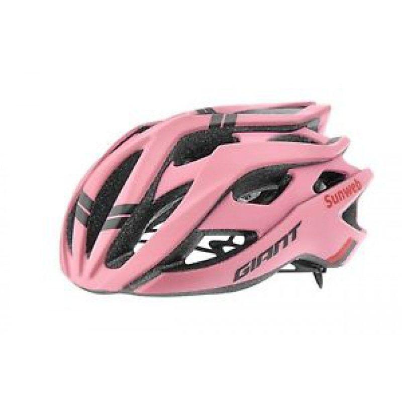 Шлем Giant Rev Sunweb Team Meglia Rosa матовый розовый