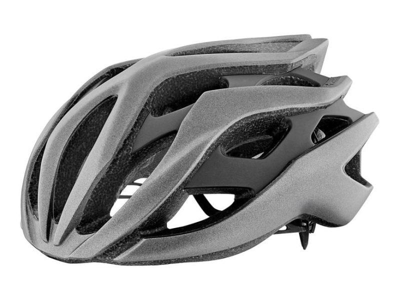 Шлем Giant Rev матовый металик серебристый /матовый черный
