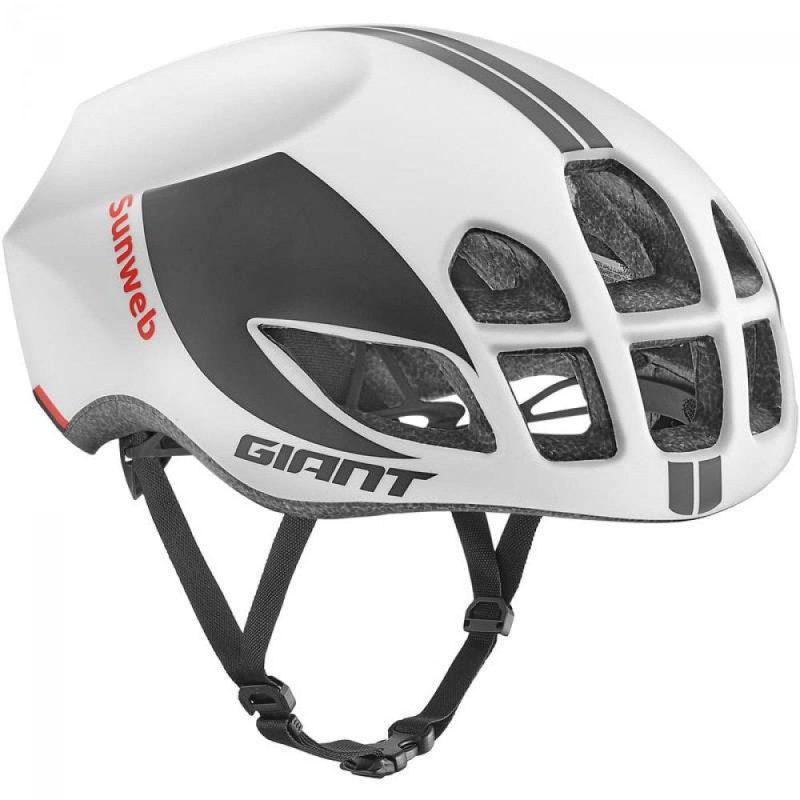 Шлем Giant Pursuit Sunweb Team матовый белый M (55-59см)