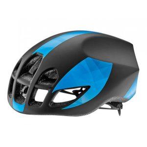 Шлем Giant Pursuit матовый черный/синий Pattern