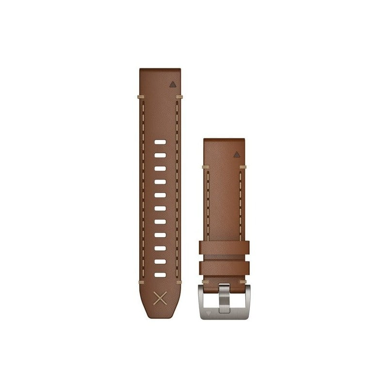 MARQ QuickFit 22m Italian Vacchetta Leather Strap