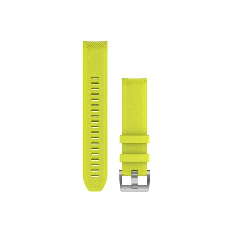 MARQ QuickFit 22m Amp Yellow/Silicone Strap