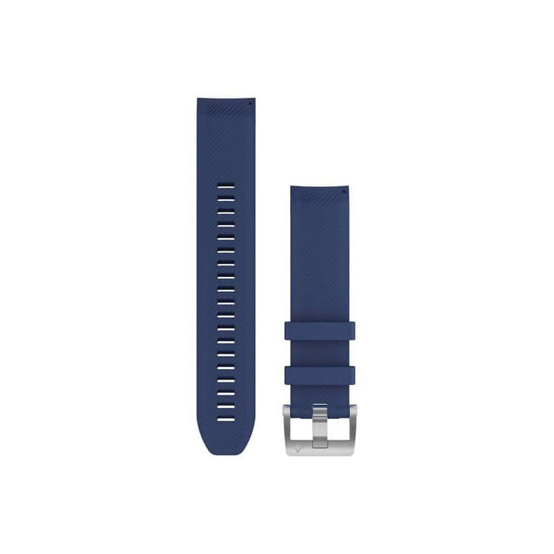 MARQ QuickFit 22m Navy Blue Silicone Strap