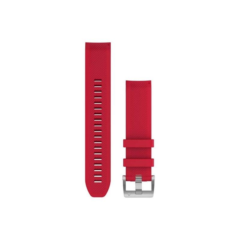 MARQ QuickFit 22m Plasma Red Silicone Strap