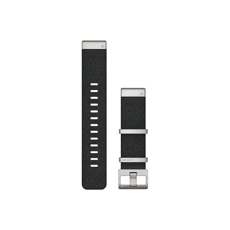 MARQ QuickFit 22m Jacquard Weave Nylon Strap Black