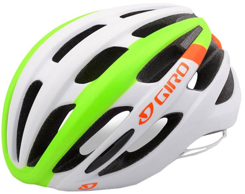 Велосипедный шлем Giro FORAY white-lime flame