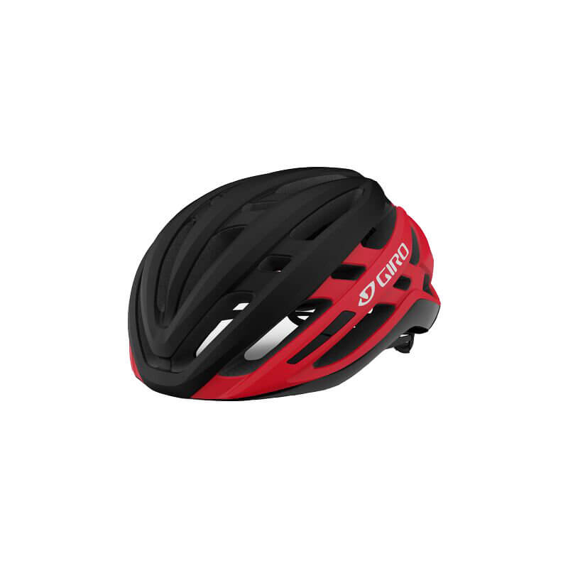 Велосипедный шлем Giro Agilis MIPS Matte Black/Bright Red
