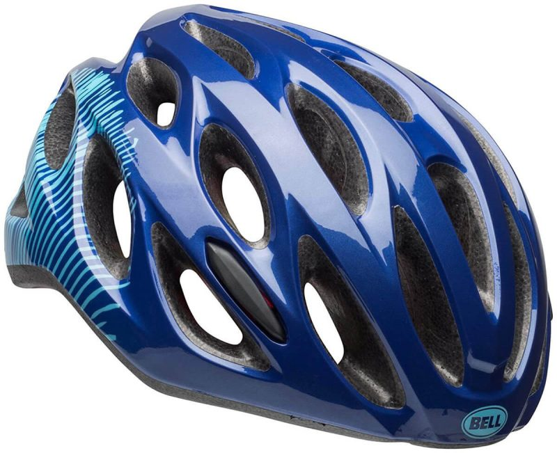 Велосипедный шлем Bell TEMPO matte blue sky fibers