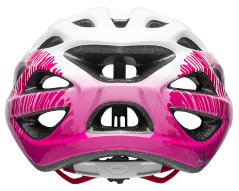 Велосипедный шлем Bell TEMPO matte white cherry fibers