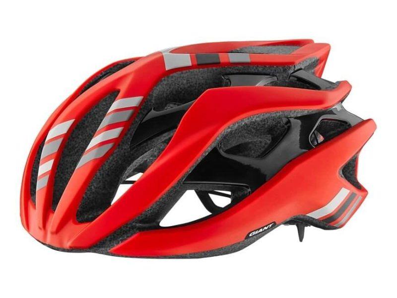 Шлем Giant Rev матовый красный /матовый черный