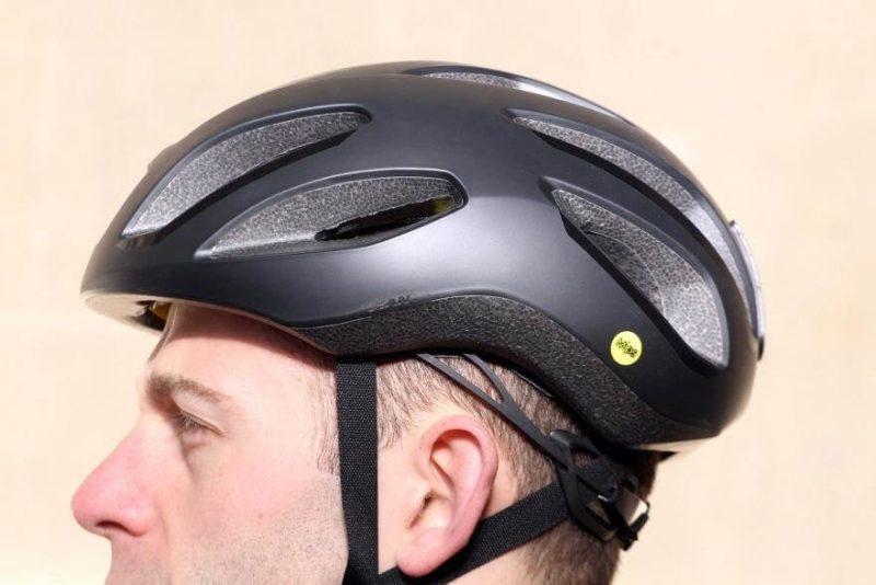 Шлем Giant Strive MIPS Illume матовый флуоресцентный желтый/черный