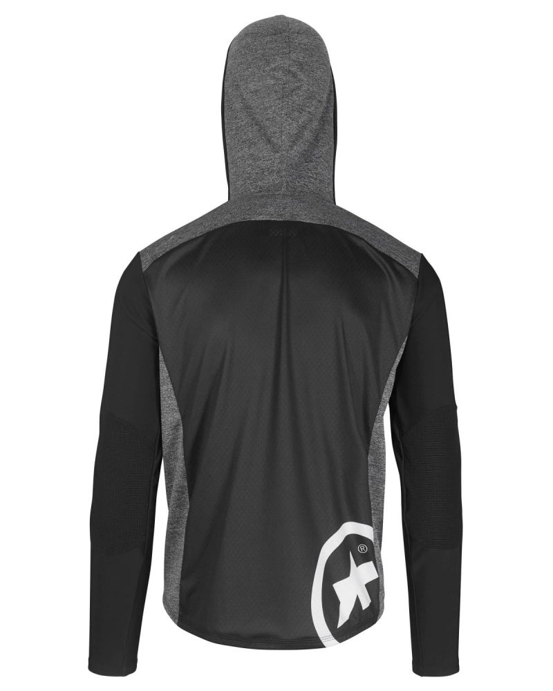 Куртка ASSOS TRAIL SPRING/FALL HOODED JACKET black Series весна-осень