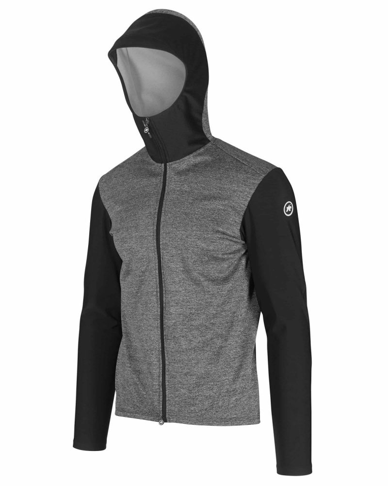 Куртка ASSOS TRAIL SPRING/FALL HOODED JACKET black Series весна-осень