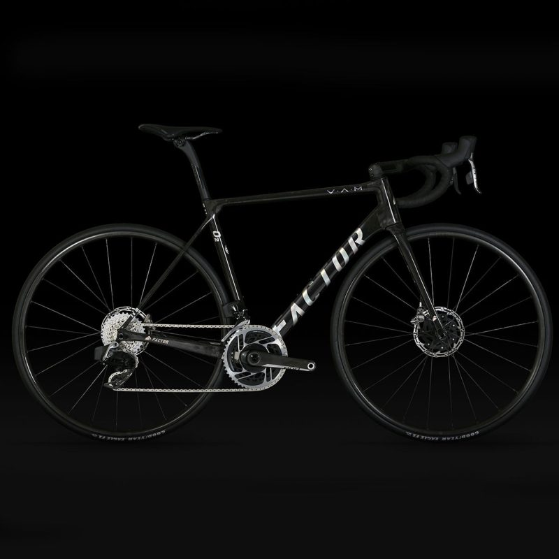 Велосипед Factor 02 VAM Gloss Carbon / Chrome