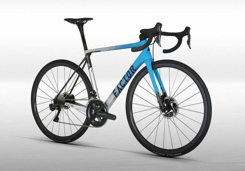 Велосипед Factor 02 MIAMI BLUE