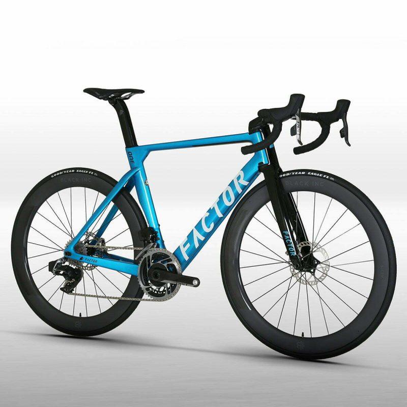 Велосипед Factor ONE Aqua Blue