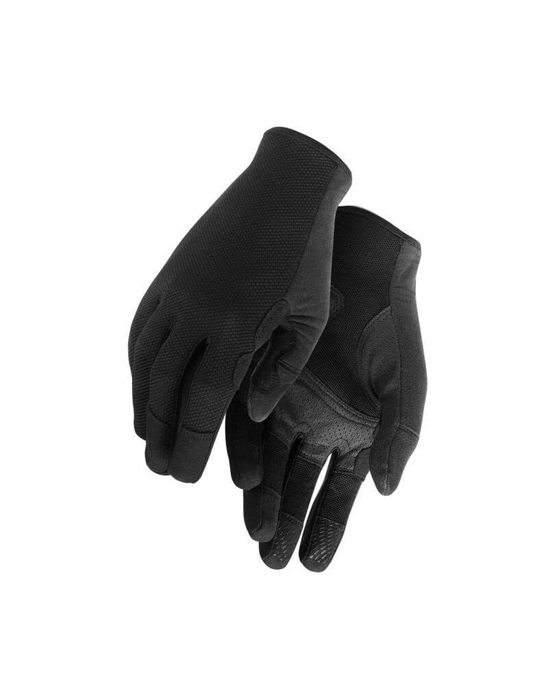Велоперчатки ASSOS TRAIL FF GLOVES blackSeries лето