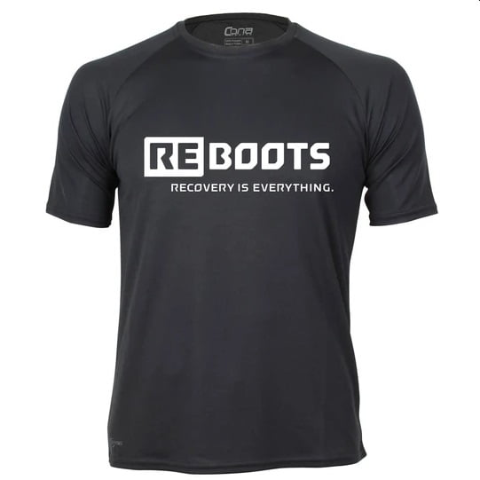 Футболка мужская Reboots Recovery is Everything