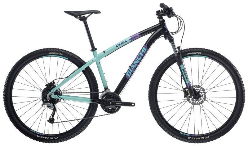Велосипед Bianchi DUEL 29S Acera/Altus 3x9s Celeste/Black Disc H