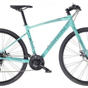 Велосипед Bianchi C-SPORT 2 Acera 24s Celeste Disc H