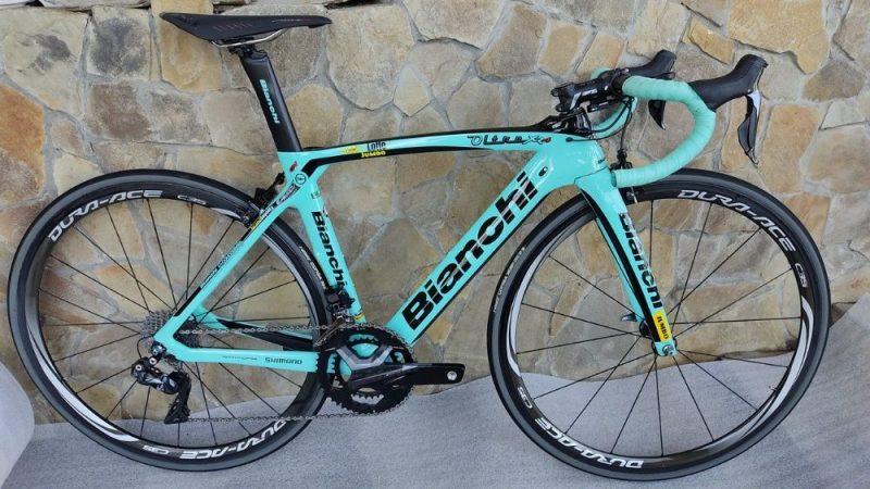 Велосипед Bianchi OLTRE XR.4 CV Ultegra DI2 11s 50/34