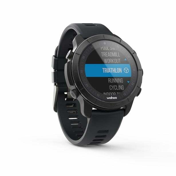 Часы ELEMNT RIVAL MULTISPORT GPS WATCH Stealth Grey
