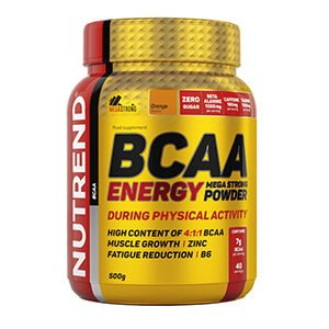 Аминокислота BCAA Energy Mega Strong Powder 500г