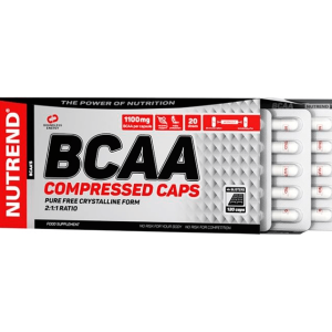 NUTREND BCAA COMPRESSED CAPS 120 КАПСУЛ