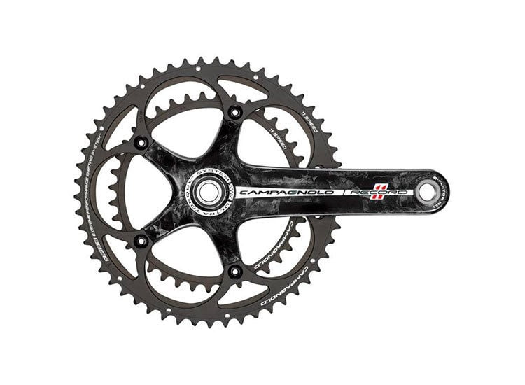 Шатуны CAMPAGNOLO Record 11S Ultra Torque 175mm 39-53 Carbon - FC11-RE593C