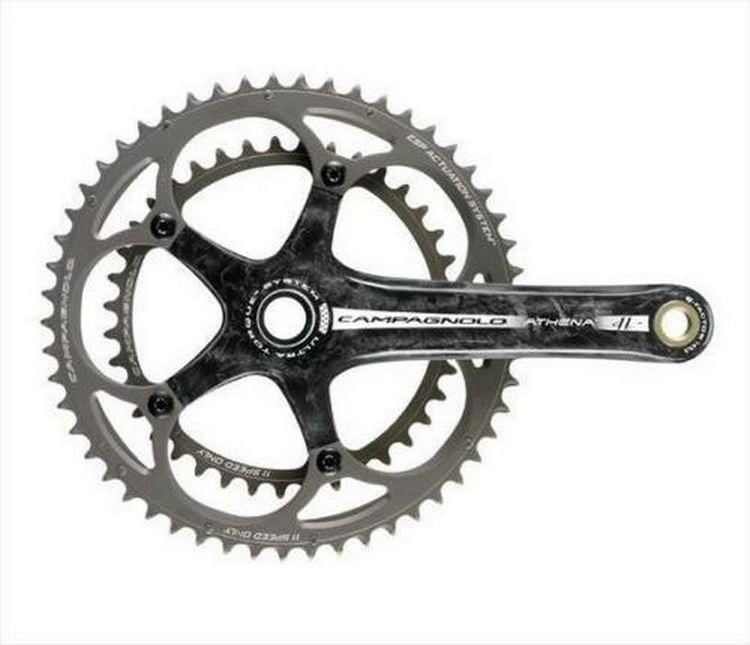 Шатуны CAMPAGNOLO Athena 11S Ultra Torque 175mm 39-53 Carbon - FC10-AT593C