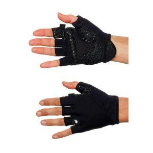 Велоперчатки ASSOS SummerGloves S7 blackVolkanga лето