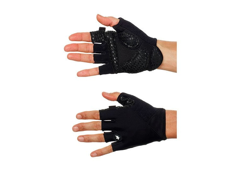 Велоперчатки ASSOS SummerGloves S7 blackVolkanga лето