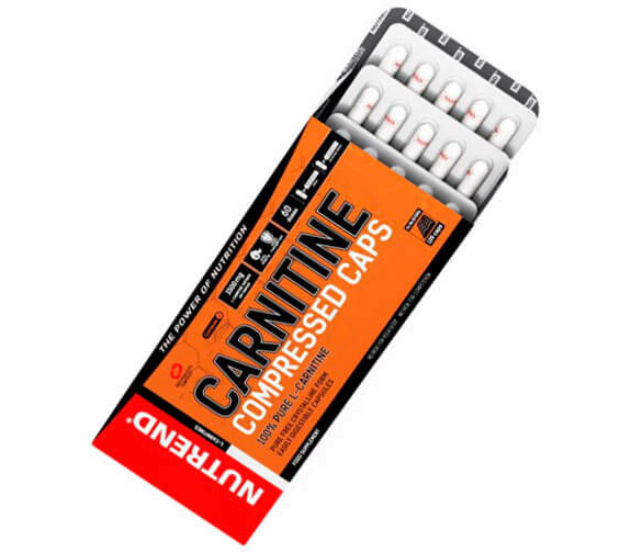 NUTREND CARNITINE COMPRESSED CAPS 120 КАПСУЛ